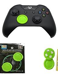 Недорогие -Комплекты для игровых контроллеров Назначение Один Xbox / Xbox One S / Xbox One X ,  Комплекты для игровых контроллеров PP / ABS 1 pcs Ед. изм