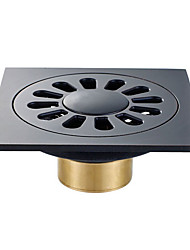 cheap -Drain New Design / Multifunction Modern Brass 1pc Single Floor Mounted
