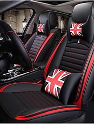 Недорогие -ODEER Подушечки на автокресло Чехлы для сидений Черный / Красный Искусственная кожа Общий for Универсальный Все года Все модели