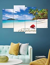 economico -Adesivi decorativi da parete - Adesivi aereo da parete Paesaggi / Natale Salotto / Camera da letto / Bagno