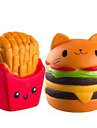 Недорогие -LT.Squishies Резиновые игрушки / Устройства для снятия стресса Продукты питания Стресс и тревога помощи / Декомпрессионные игрушки Поли