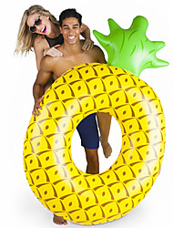 cheap -Pineapple Inflatable Pool Floats PVC Durable, Inflatable Swimming / Water Sports for Adults 182*116*36 cm