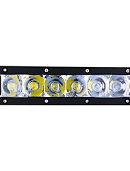 economico -exLED 2pcs Auto Lampadine 30 W 3000 lm 6 LED Luce di posizione / luci esterne For Universali