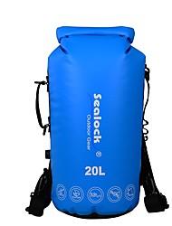 baratos -Sealock 20 L Bolsa Impermeável Zíper á Prova-de-Água, Vestível para Ioga / Natação / Surfe
