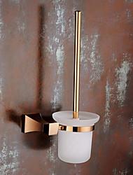 abordables -Porte Brosse de Toilette Design nouveau Moderne Laiton 1pc - Salle de Bain Montage mural