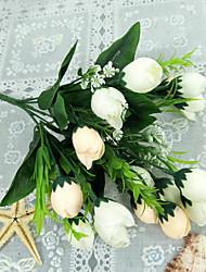 Недорогие -Искусственные Цветы 1 Филиал Классический Деревня Pастений Букеты на пол