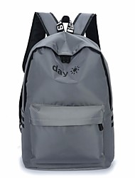 cheap -Men's Bags Nylon School Bag Zipper Black / Light Grey