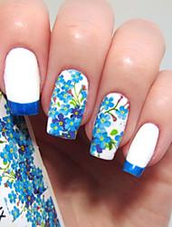 economico -5 pcs Adesivi manicure Manicure pedicure Colorato Decalcomanie per unghie Da tutti i giorni / Festival