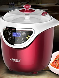 baratos -Yogurt Maker Novo Design / Multifunções PP / ABS + PC Máquina de iogurte 220-240 V 200 W Utensílio de cozinha