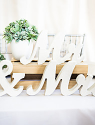 Недорогие -деревянный Неприменимо Церемония украшения - Свадьба Свадьба