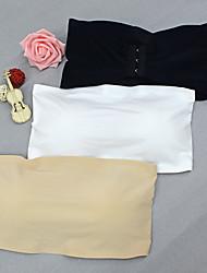 Недорогие -Женский Сексуальные платья Без бретелей / мультивей Бюстгальтер Закрытый - Однотонный