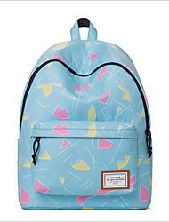 cheap -Women's Bags Polyester School Bag Pattern / Print Blue