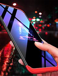 Недорогие -Кейс для Назначение OnePlus OnePlus 6 / OnePlus 5T Матовое Кейс на заднюю панель Однотонный Твердый ПК для OnePlus 6 / One Plus 5 /
