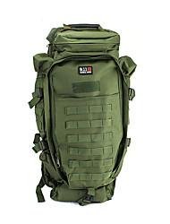levne -60 L Batohy - Rychleschnoucí, Nositelný Turistika, Kempink Nylon Armádní zelená