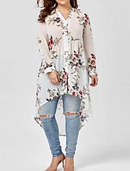 cheap -Women's Blouse - Floral V Neck / Floral Patterns