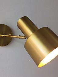 Недорогие -Новый дизайн Модерн Настенные светильники Спальня / Коридор Металл настенный светильник 220-240Вольт 40 W