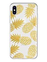 economico -Custodia Per Apple iPhone X / iPhone 8 Plus Fantasia / disegno Per retro Frutta Morbido TPU per iPhone X / iPhone 8 Plus / iPhone 8