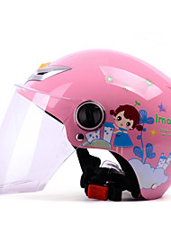 cheap -YEMA 207 Half Helmet Kids Unisex Motorcycle Helmet  Fastness / Child Safe Case / Breathable