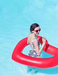 Недорогие -Heart Shape Надувные игрушки и бассейны PVC Прочный, Надувной Плавание / Водные виды спорта для Взрослые 110*90 cm