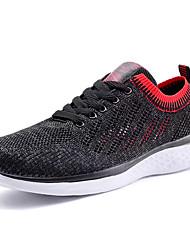 povoljno -Muškarci Cipele Til Ljeto Udobne cipele Atletičarke tenisice Hodanje Crn / Plava / Crno / crvena