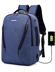 economico -Poliestere Porta computer Cerniera Blu scuro / Grigio / Viola