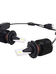 preiswerte -2pcs H7 Auto Leuchtbirnen 40 W Integrierte LED 8000 lm 24 LED Scheinwerfer For Universal Universal Universell