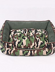 cheap -Dogs / Rabbits / Cats Cages / Bed Pet Mats & Pads Patchwork / Fashion / British Mini / Casual / Cute Camouflage For Pets