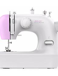Недорогие -ручная швейная машина электрическая многофункциональная 12 встроенных стежков для начинающего стартера 2 скоростной оверлоке бытовой швейной инструмент розовый