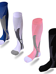 Недорогие -Универсальные Компрессионные носки Воздухопроницаемость Нейлон
