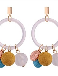 cheap -Women's Turquoise Drop Earrings - Stylish White For Going out / Birthday