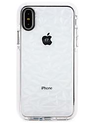 economico -Custodia Per Apple iPhone X / iPhone 8 Ultra sottile Per retro Colore graduale e sfumato Morbido TPU per iPhone X / iPhone 8 Plus / iPhone 8
