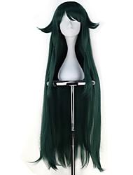 Недорогие -Косплей Косплей Косплэй парики Все 40 дюймовый Термостойкое волокно Темно-зеленый Аниме