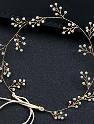 economico -Perla Head Chain con Lacci 1 pezzo Matrimonio / Occasioni speciali Copricapo