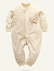 billige -Baby Drenge Trykt mønster Langærmet En del