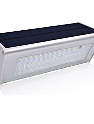 economico -1pc 6.8 W Applique solare Solare / Impermeabile / Controllo della luce Bianco 3.2 V Luci per esterni / Cortile / Giardino