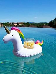 cheap -Drinkware PVC (Polyvinylchlorid) Accessories Floating / Cartoon / Inflatable 1 pcs
