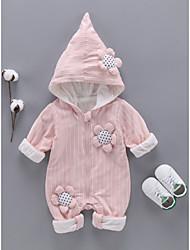 billige -Baby Pige Ensfarvet Langærmet En del
