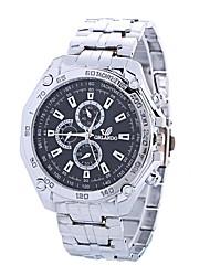 baratos -Xu™ Mulheres Relógio Elegante / Relógio de Pulso Chinês Criativo / Relógio Casual / Mostrador Grande Lega Banda Luxo / Fashion Prata / Um ano