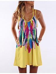 preiswerte -Damen Hülle Kleid Mini