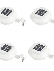 cheap -4pcs 0.5 W Led Street Light Solar / Waterproof / Decorative Warm White / White 1.2 V Outdoor Lighting / Courtyard / Garden