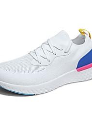cheap -Men's Light Soles Knit / Mesh Summer Comfort Athletic Shoes Running Shoes / Tennis Shoes Black / Gray / Blue