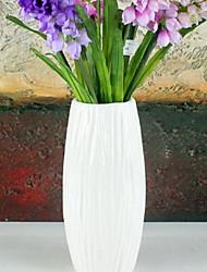 baratos -Flores artificiais 1 Ramo Clássico Estiloso Vaso Flor de Mesa