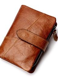 baratos -sacos unisex padrão de carteira de couro napa / impressão preto / marrom / café