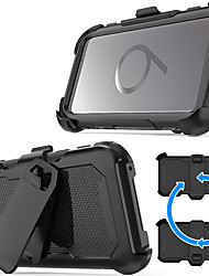 cheap -Case For Samsung Galaxy S9 Plus / S9 Shockproof / with Stand Back Cover Armor Hard PC for S9 / S9 Plus
