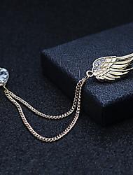 cheap -Women's Cubic Zirconia Stylish Brooches - Trendy, Fashion, Elegant Brooch Gold / Silver For Wedding / Holiday