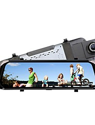 baratos -Factory OEM 1080p Visão Nocturna DVR de carro 140 Graus Ângulo amplo 12 MP 9.7 polegada Dash Cam com Gravação em Loop / Gravação em ciclo de loop Gravador de carro