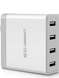 Недорогие -Зарядное устройство USB 20379 4 Настольная зарядная станция С быстрой зарядкой 2.0 Стандарт Австралии Адаптер зарядки