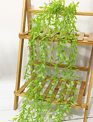 Недорогие -Искусственные Цветы 1 Филиал С креплением на стену Простой стиль / Пастораль Стиль Pастений Цветы на стену