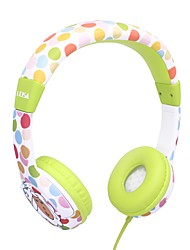 cheap -LEISA I3B Safe Headphones - 85dB Volume Limited Headsets For Kids Durable Adjustable Lightweight Headphones With 3.5mm Audio Jack