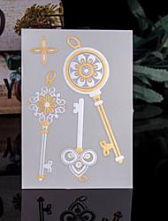 Недорогие -Trustfire Стикер татуировки Корпус / руки / рука Временные татуировки 1 pcs Тату с тотемом Золотой Мини / Экологичные / Одноразового использования Искусство тела Повседневные